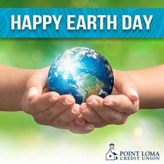 🌎 HAPPY EARTH DAY: Celebrate and #GoGreen with a PLCU Green Loan today! #pointlomalocals #sandiegoconnection #sdlocals #sandiegolocals - posted by Point Loma Credit Union  https://www.instagram.com/myplcu. See more post on Point Loma at http://pointlomalocals.com