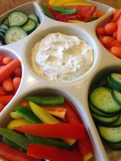 Dilly Vegetable Dip