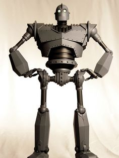 """Mondo Toys's MASSIVE 16-inch tall """"Iron Giant"""" Action Figure with 30 points of articulation!"""