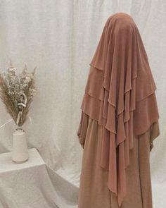 Moslem Fashion, Niqab Fashion, Modest Fashion, Mode Niqab, Hijab Style Tutorial, Stylish Hijab, Abaya Style, Islamic Fashion, Islamic Clothing