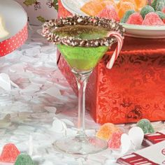 Peppermint Martini - Free Christmas Recipes, Coloring Pages for Kids & Santa Letters - Free-N-Fun Christmas