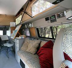 Sportsmobile Custom Camper Vans - Mobile Artists