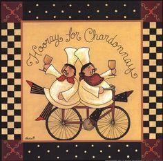 Hooray for the Chardonnay (Becca Barton)