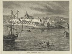 The NewYorkologist: Fort Amsterdam as it looked around 1650 (MCNY)