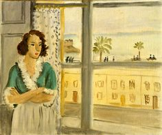 Matisse, Henri (French, 1869-1954) - Girl at the Window - 1921