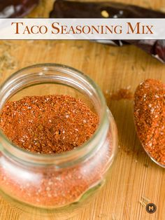 Homemade taco seasoning mix with roasted whole spices to maximize flavor (and save some money). Make a big batch and store it for months!