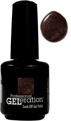 Geleration Nail Polish by Jessica Color : Hot Fudge (Gel-432) item # gej01-hot-fudge-432 $13.99