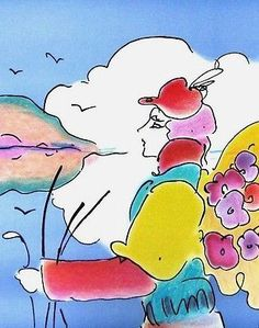 On a Distant Planet, Ltd Ed Lithograph, Peter Max – Art Commerce