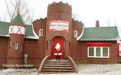 Santa's Candy Castle in Santa Claus, #Indiana -- Unique attraction! Candy shop, bookstore, and all-around fun.