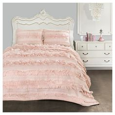 Belle Quilt Set - Lush Decor : Target