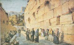 Keroline A. Western Wall, 19th Century, Artists, Painting, Painting Art, Paintings, Painted Canvas, Artist, Drawings