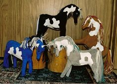 Leather ponies, ca. 2005-06, by Sara MacIntyre