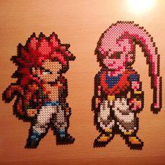 Dragon Ball hama beads by mikelet_ska