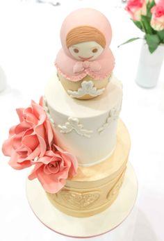 Russian Doll Wedding Cake