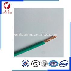 Red color PVC insulated BV4mm Single core copper electric wire ...