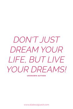 After visualizing your dreams, you need to wake up and actually make some goals to actually get there! Living your dreams is not always that whimsical miracle, most of the times you need to work hard to get there! BUT that doesn't mean it can't be fun and inspiring and wonderful on your way there!