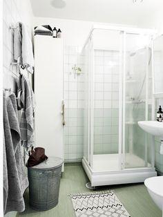 Amenajare retro într-un apartament de 73 m²