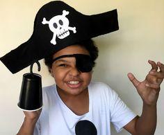 Fantasia de pirata: aprenda a criar adereços para o Carnaval com o 'Faça em…