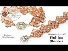 "Beading4perfectionists: ""Proodles"" bracelet. The PRAW bracelet decorated - YouTube"