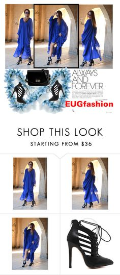 """""""EUGfashion-New Maxi Dress"""" by fahreta1992 ❤ liked on Polyvore featuring women's clothing, women, female, woman, misses and juniors"""