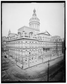 [City Hall, Baltimore, Md.]