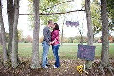 Our Save the Date by Dreaming Tree Photography