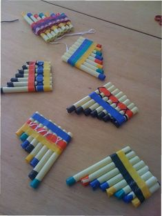 Making Musical Instruments with Materials - Preschool Children Akctivitiys Music For Kids, Diy For Kids, Crafts For Kids, Arts And Crafts, Homemade Musical Instruments, Making Musical Instruments, Music Crafts, Indian Crafts, Indian Party