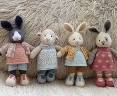 """4,987 mentions J'aime, 316 commentaires - Julie (@littlecottonrabbits) sur Instagram : """"This little group of girlies just wanted to say thank you to everyone who voted for little cotton…"""""""