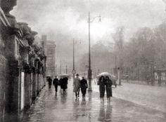 Léonard Misonne :: Regenachtige dag / Rainy Day, 1930′s