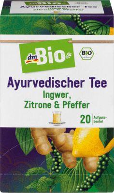 Ayurvedischer Tee -  Ingwer, Zitrone & Pfeffer 20x2g
