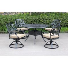 7 piece mayfield patio dining group patio sets pinterest