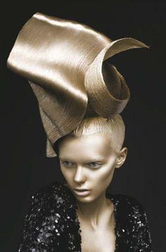 Sculpture hair