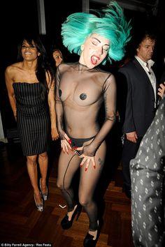 Lady Gaga CFDA Fashion Awards. Spiked thong FTW!