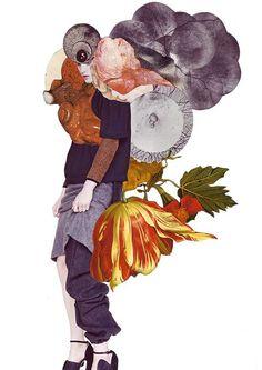 Textured Supermodel Collages - Artist Ashkan Honarvar Redesigns Ideal Beauty (GALLERY)