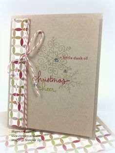 Another fabulous card made with the Endless Wishes set