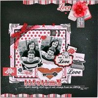 A Project by gumpgirl from our Scrapbooking Gallery originally submitted 02/06/12 at 08:26 AM