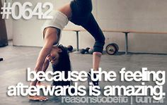 #0642 Reasons to be FIT. Because the feeling afterwards is amazing.