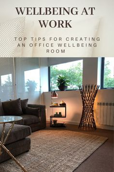 Creating a Wellbeing Room at work Counselling Room, Therapy Office Decor, Office Yoga, Cozy Office, Staff Room, Counseling Office, Zen Room, Relaxation Room, Home Office Space