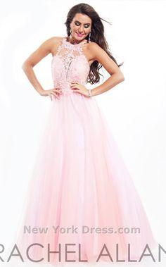 NewYorkDress Blog // Prom Movie Match: Pretty in Pink // Click through for more! // Dress: Rachel Allan 6936