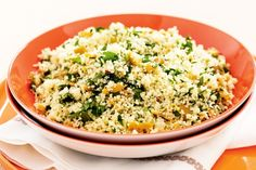 Lemon, olive and parsley couscous main image