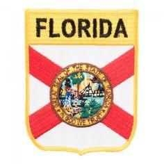 Ecusson Brodé PATCH drapeau Rhode Island USA ETATS UNIS FLAG EMBROIDERED