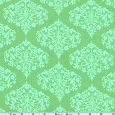 Amy Butler Midwest Modern II Park Fountains Green - Discount Designer Fabric - Fabric.com $8.98