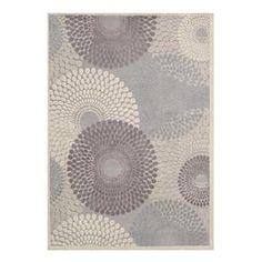 "Graphic Illusions GIL04 3'6"" x 5'6"" Grey Area Rug   Nebraska Furniture Mart"