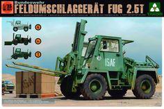 TAKOM 1/35 Bundeswehr Feldumschlaggerät FUG 2,5 TAKO2021 #Takom