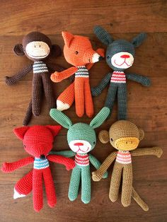 Flickr feed with lots of crocheted critters for inspiration
