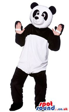 #panda #mascots by #spotsound_uk -Discover all our #pandas #mascots #costumes for your marketing events on: http://www.spotsound.co.uk/25-mascot-of-pandas - 7 sizes available with fast shipping over the world ! We can also customize your future #panda #mascot ! Visit us ;)