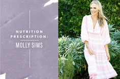 The low-sugar eating plan that helped Molly Sims find a healthy balance after having a baby – Well+Good