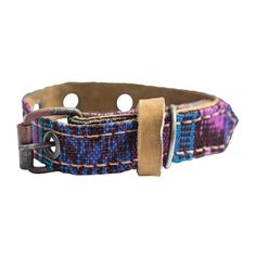 Mayan cat Collar For Small Size Cats and Dogs (5.75 - 9.75 Inches) Handmade by Hide and Drink :: Tropical Blue * Remarkable product available now. : Cat Collar, Harness and Leash