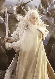 Gandalf le Blanc. Le Seigneur des anneaux