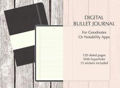 Digital Bullet Journal Planner For GoodNotes Notability